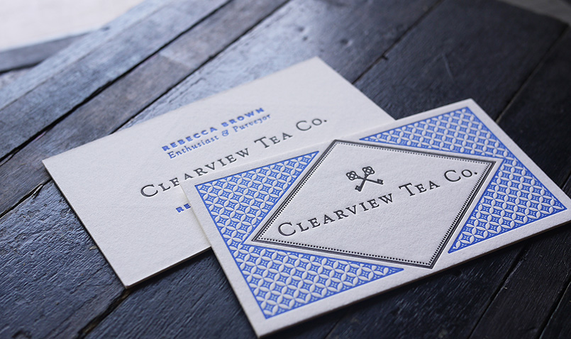 Clearview Tea Co. Cards