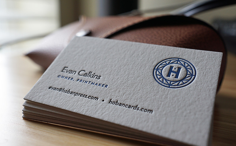 Hoban Press Business Cards