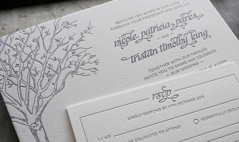 King Wedding Invites