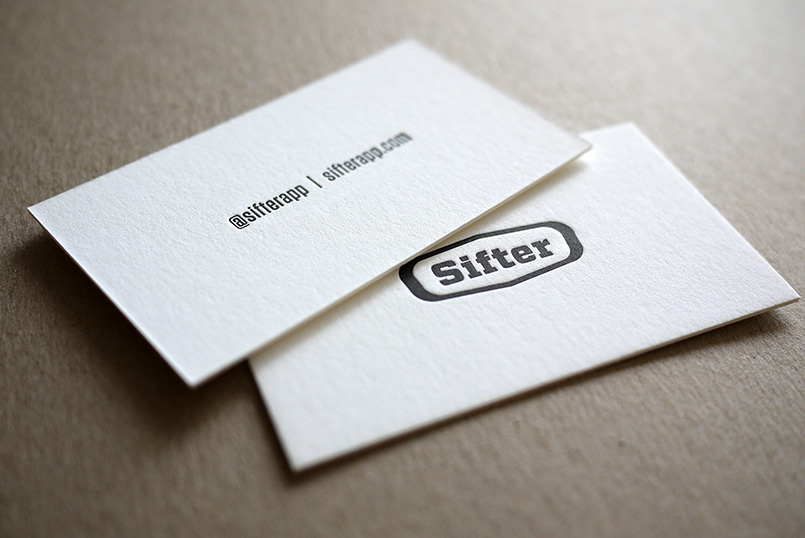 Sifter Business Cards