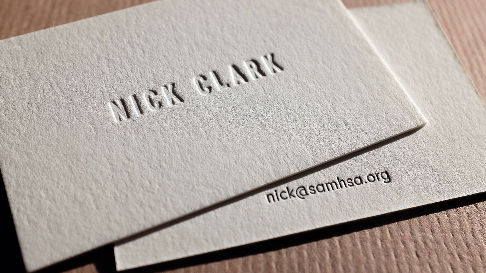 hoban cards - Letterpress Business Cards
